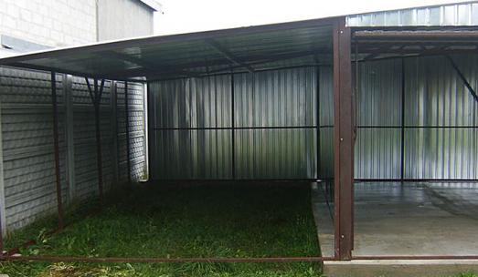 Jak odnowić stary garaż blaszany?