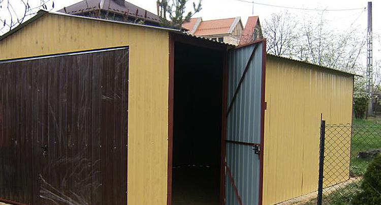 Ciepły i energooszczędny garaż