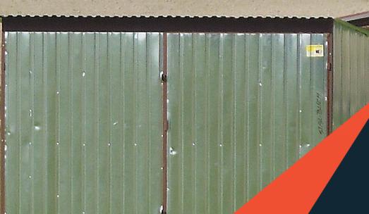 Garaż blaszany 3×5 za 1250 zł – 2 i 3 gatunek – Zapraszamy!
