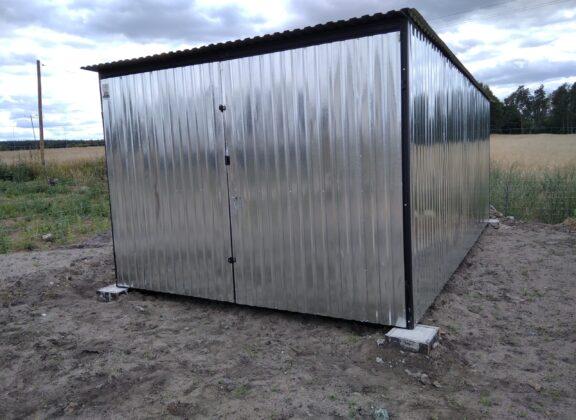 Garaż Blaszany 3×5,5 ocynk